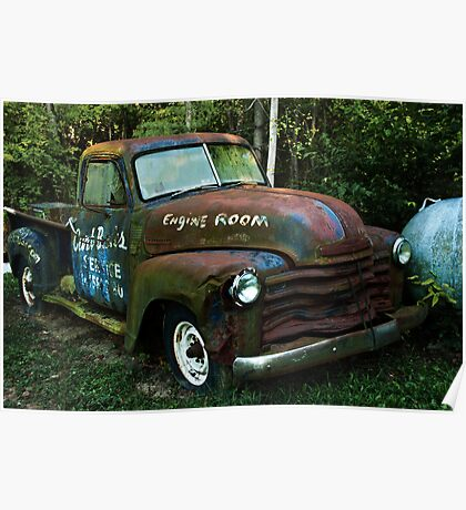 52 or 53 Chevy PU Poster