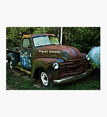 52 or 53 Chevy PU Photographic Print