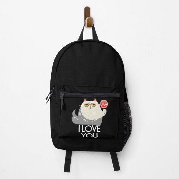 Cat I Love You Backpack