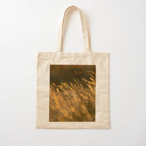 Summer Grasses 2 Cotton Tote Bag