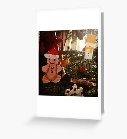 Gingerbread decoration Greeting Card