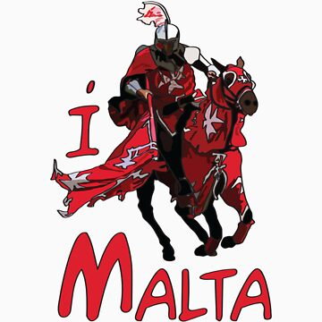 I LOVE MALTA T-shirt by ethnographics