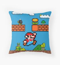 Mario Throw Pillow