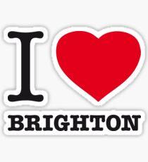 I ♥ BRIGHTON Sticker