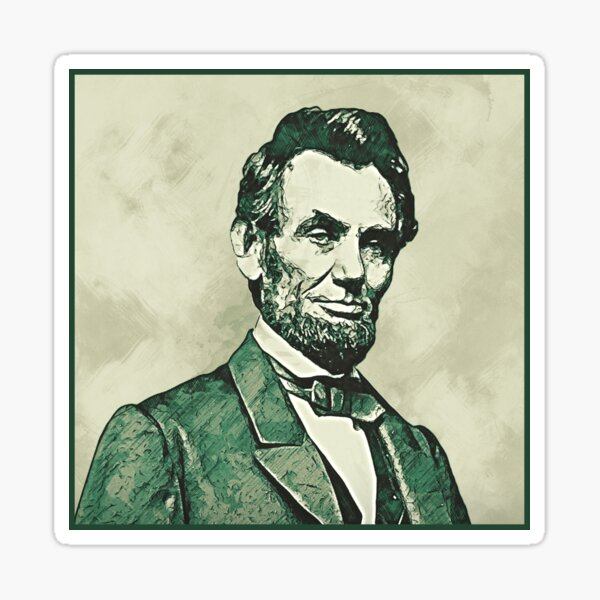 Honest Abe Sticker