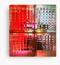 Technicolor Window Pains Metal Print