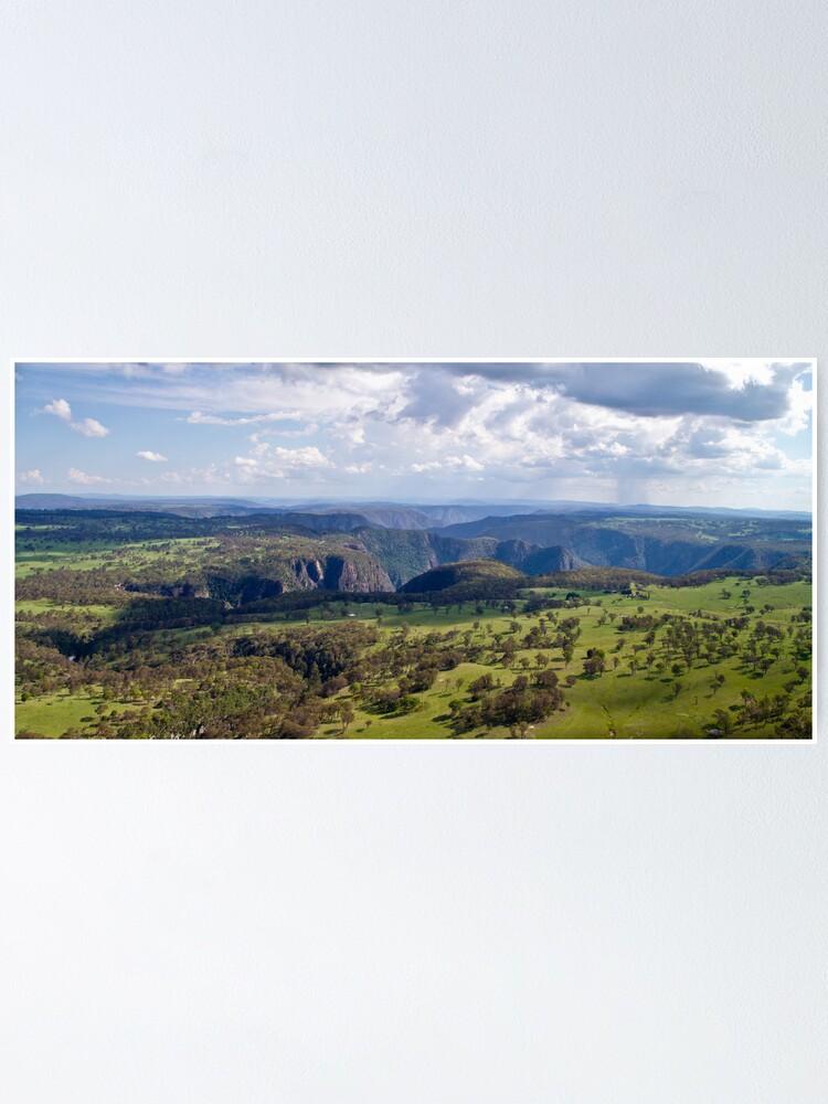 Alternate view of Wollomombi Falls Gorge Poster