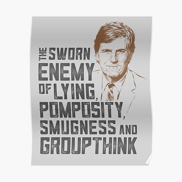 Tucker - The Sworn Enemy Poster