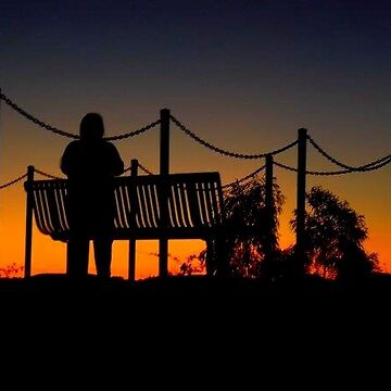 Silhouette at Sunset  by Gmac7