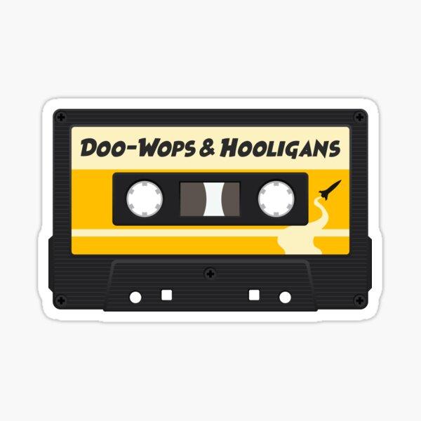 Cinta de cassette Doo-Wops y Hooligans Pegatina