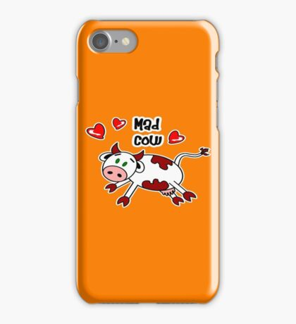 Mad Cow iPhone Case/Skin