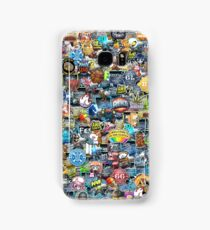 CSGO Sticker Collage Samsung Galaxy Case/Skin