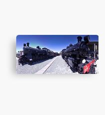 Steam Engines Pano Canvas Print