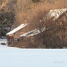 Cabin in the Snow by Leann Moses Rardin