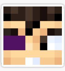 VEGETTA7771 Minecraft face Sticker