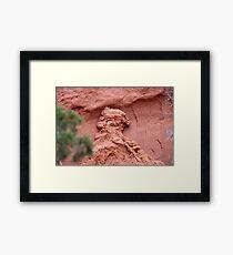 Indian Profile,Kodachrome State Park,Utah,USA Framed Print