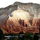 Colored Mountain in Kodachrome State Park by Anthony & Nancy  Leake