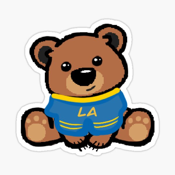 Bruin Mascot Sticker