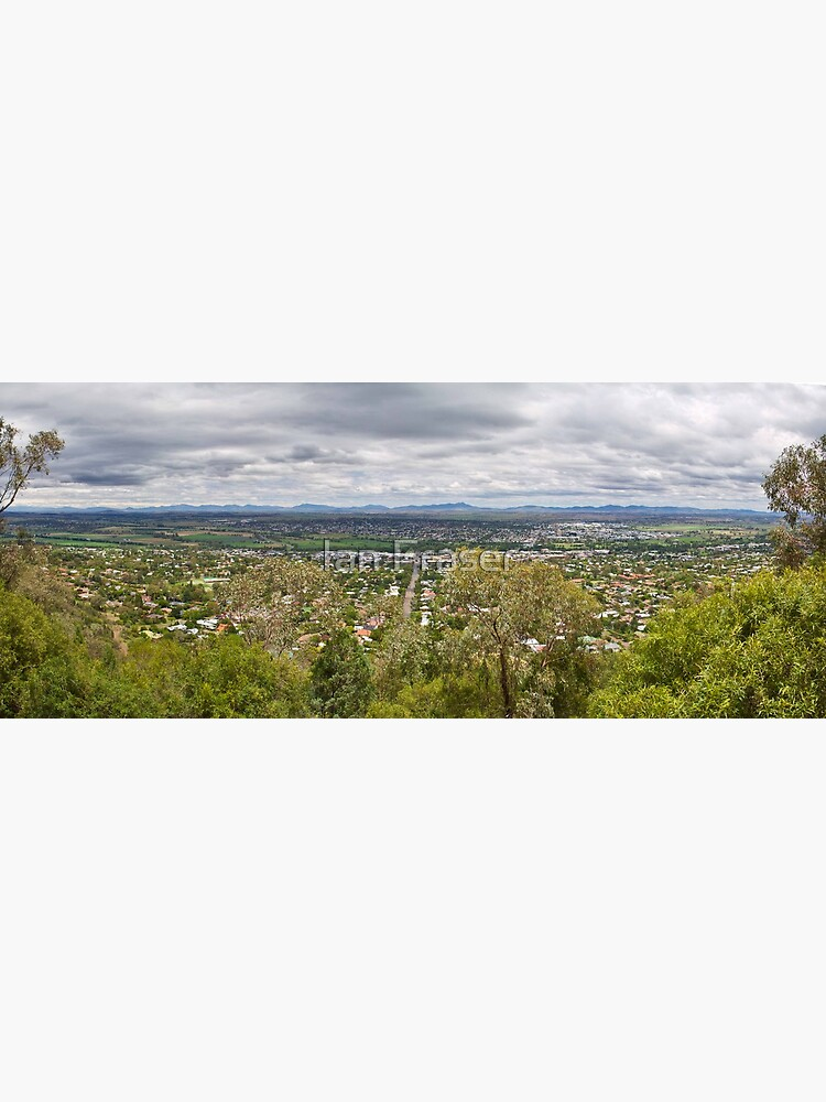 Tamworth from the Lookout by Mowog