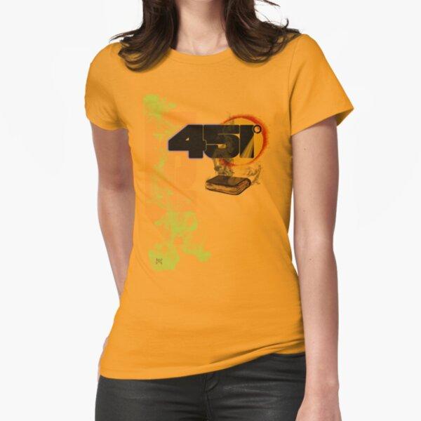 farenheit 451 Fitted T-Shirt