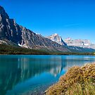Mistaya Lake by Ian Fegent