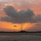 Mutton Bird Island Sunset, Southwest Tasmania by tasadam
