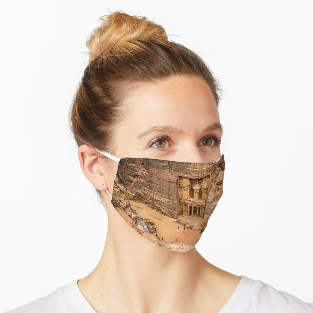 Petra, Jordan Face Mask: Wonders of the World Mask