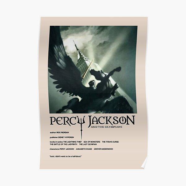 Cubierta alternativa de Percy Jackson Póster