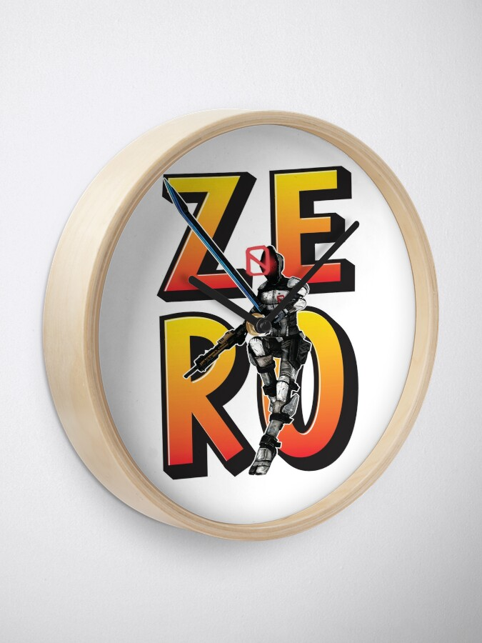 Alternate view of Zer0 The Assassin Borderlands Clock