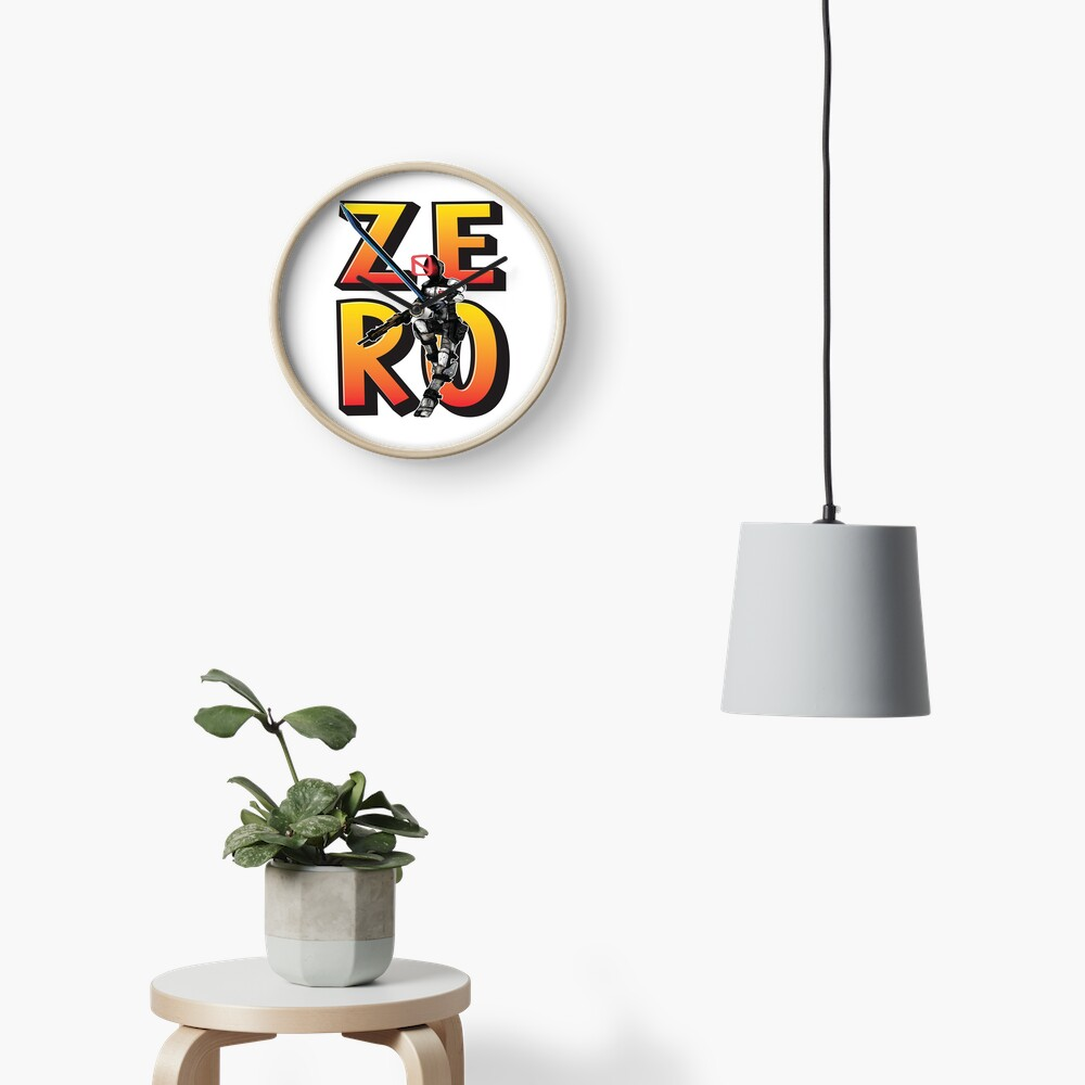 Zer0 The Assassin Borderlands Clock