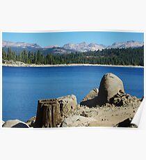 Lakeshore, Ice House Reservoir, California Poster