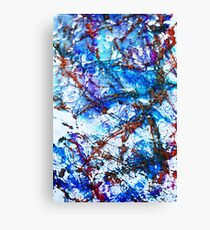 Number 9 Abstract Canvas Print