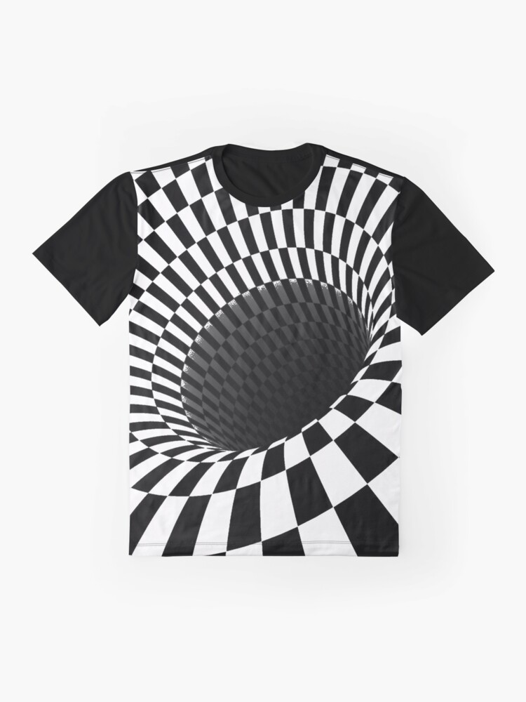 Alternate view of Optical Illusion, Visual Illusion,  Cognitive Illusions, #OpticalIllusion, #VisualIllusion,  #CognitiveIllusions, #Optical, #Illusion, #Visual, #Cognitive, #Illusions Graphic T-Shirt