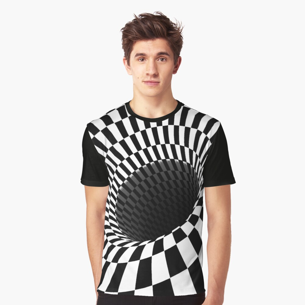 Optical Illusion, Visual Illusion, Cognitive Illusions, #OpticalIllusion, #VisualIllusion, #CognitiveIllusions, #Optical, #Illusion, #Visual, #Cognitive, #Illusions Graphic T-Shirt