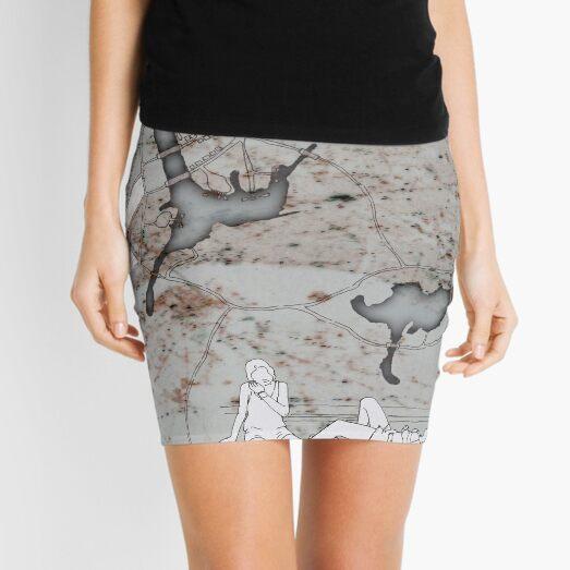 Composite #13 (Somewhereville) Mini Skirt