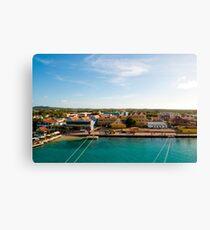 Bonaire Landscape Canvas Print