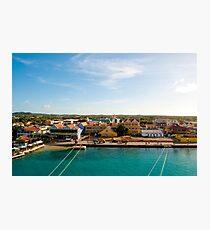 Bonaire Landscape Photographic Print