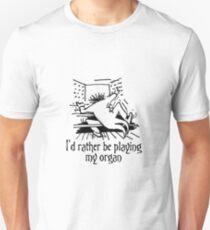 Funny cartoon of organist T-Shirt