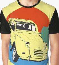 2cv Deux Chevaux seventies style Graphic T-Shirt