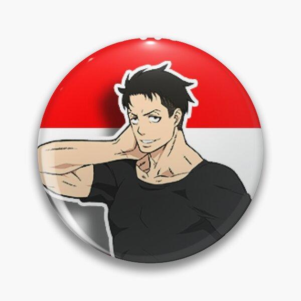 Akitaru Ōbi | Fire Force | Anime Pin