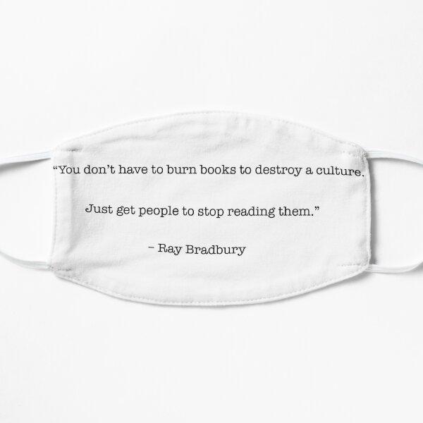 Book Culture-Ray Bradbury Quote Mask