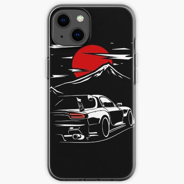 Mazda RX7   Haruna iPhone Soft Case