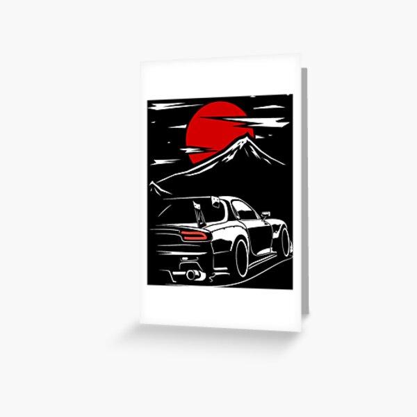 Mazda RX7 | Haruna Greeting Card