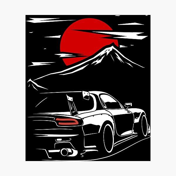 Mazda RX7 | Haruna Photographic Print