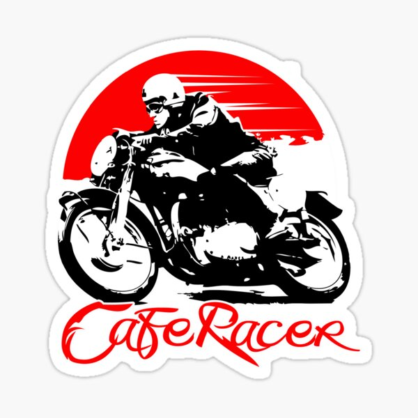Café Racer Sticker
