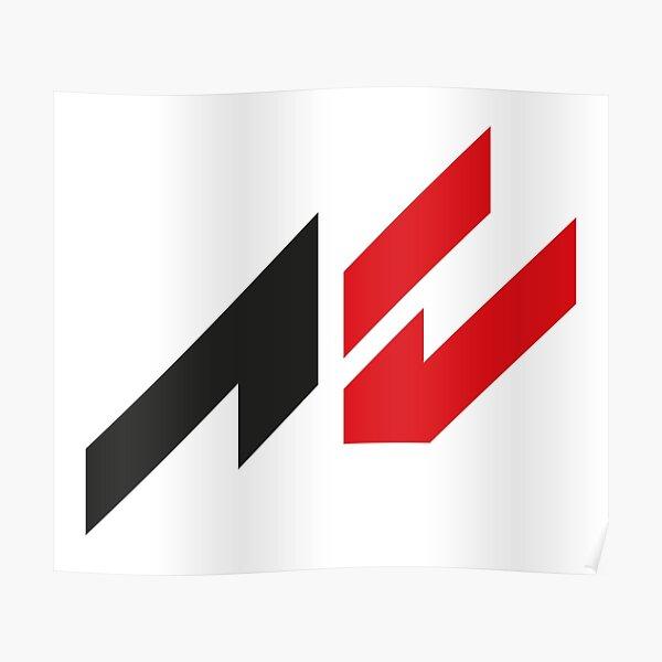 Assetto Corsa Logo Poster