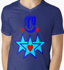 ۞»★Initial C Fantabulous Clothing & Stickers★«۞ Mens V-Neck T-Shirt