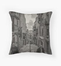 Pedestrians Throw Pillow