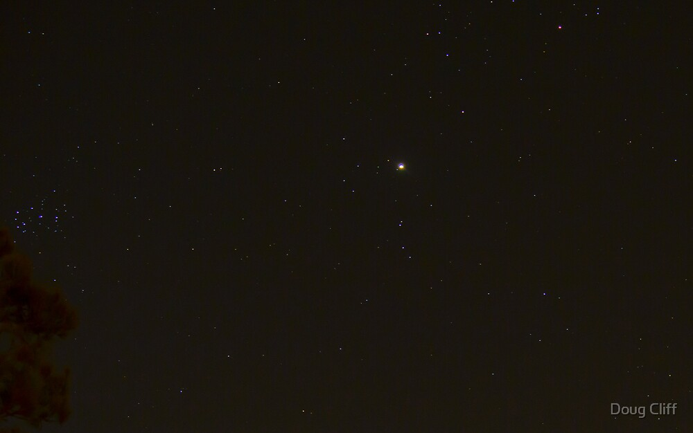Jupiter on NYE 2012 by Doug Cliff