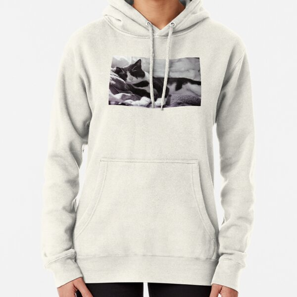 Cat at ease Pullover Hoodie